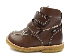 Arauto RAP winter boot brown with velcro and TEX