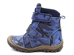 Arauto RAP winter boot army navy with velcro and TEX