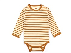 En Fant body leather brown stripes