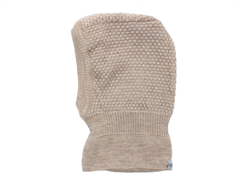 MP balaclava Oslo Windstopper light brown wool/cotton