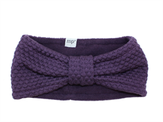 MP Oslo headband purple wool/fleece