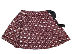 A Monday skirt Flora tawny port