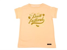 A Monday t-shirt festival peach quartz
