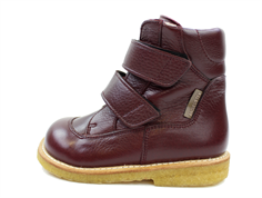 Angulus winter boot bordeaux with TEX