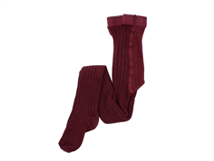 MP tights cotton windsor wine