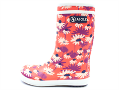 Aigle Lolly Pop rubber boot marguerite