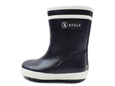 Aigle Baby Flac Fur winter rubber boot marine