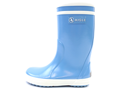 Aigle Lolly Pop rubber boot bleau ciel