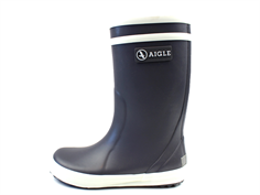 Aigle Lolly Pop gumboot charcoal