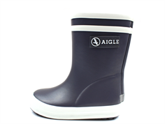 Aigle Baby Flac rubber boot charcoal