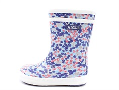 Aigle Lolly Pop rubber boot sandy blue