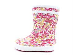 Aigle Lolly Pop rubber boot sandy orchide