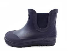 Aigle winter rubber boot Chelsea dark navy