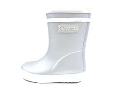 Aigle Baby Flac gumboot silver