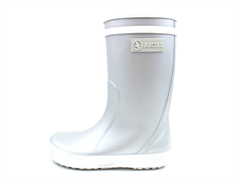 Aigle Lolly Pop gumboot silver