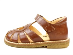 Angulus sandal cognac with heart