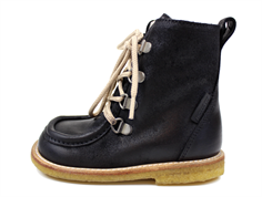 Angulus winter boot black zip and TEX