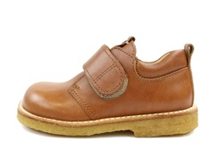 Angulus shoes tan/cognac with velcro