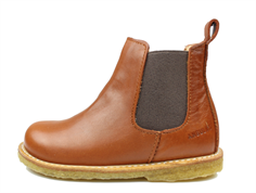 4380a9f9ee1540 Buy Angulus ancle boot cognac brown at MilkyWalk