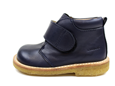 Angulus toddler shoe navy with velcro