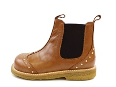 Angulus ancle boot cognac/brown with rivets