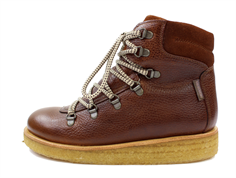 Angulus winter boot cognac/brown with laces and TEX (narrow)