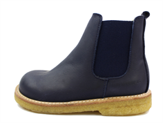 Angulus ancle boot dark blue with wool lining