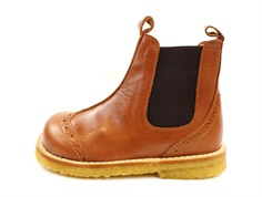 Angulus ancle boot cognac
