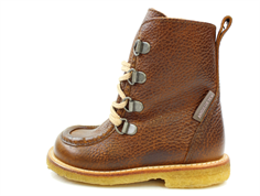 Angulus winter boot cognac with zip and TEX