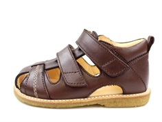 Angulus sandal dark brown with velcro