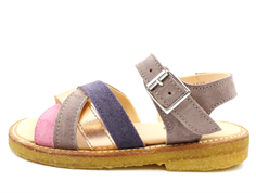 Angulus sandal lavender/rose with buckle