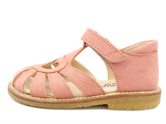 Angulus sandal coral suede with heart