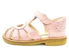 Angulus sandal coral glitter with heart