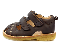 Angulus sandal dark brown