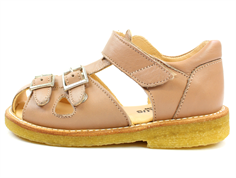 Angulus sandal make-up with buckles and velcro