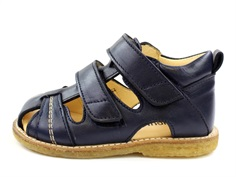 Angulus sandal navy with velcro