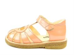 Angulus sandal peach paint with heart
