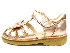 Angulus sandal rose copper with bow