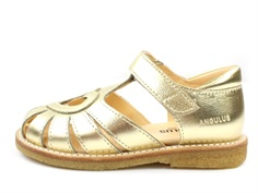 Angulus sandal gold with heart (narrow)