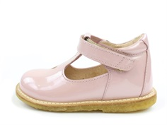 Angulus shoes pale rose with a small heart
