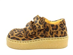 Angulus shoes leopard with velcro