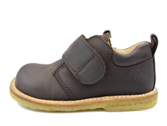 Angulus shoes brown with velcro