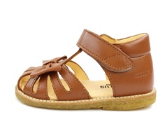 Angulus sandal cognac with bow