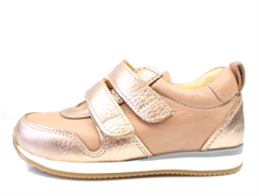 Angulus sneaker light copper peach with velcro