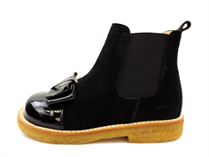 Angulus ancle boot black with bow