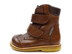 Angulus winter boot redbrown/gray with TEX