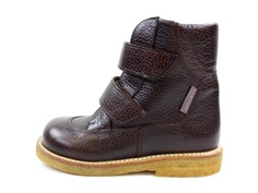 Angulus winter boot dark brown with TEX