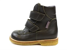 Angulus winter boot dark olive with TEX