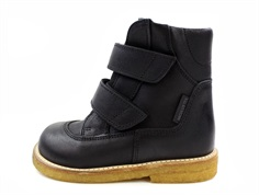 Angulus winter boot black coupe with TEX