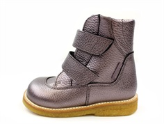Angulus winter boot mauve shine with TEX